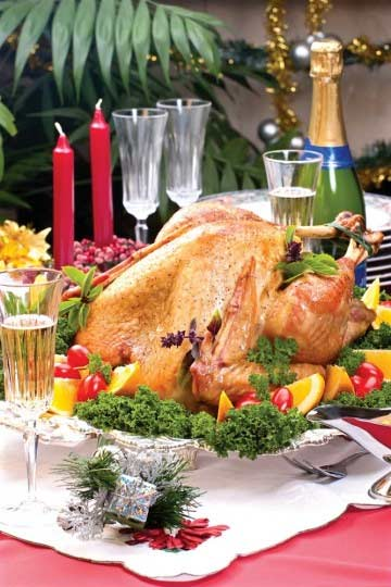 Giáng sinh đúng điệu với gà tây đút lò - 4
