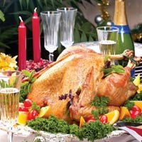Giáng sinh đúng điệu với gà tây đút lò