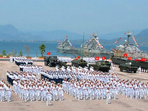 Lực lượng hải quân Việt Nam đang từng bước được ...