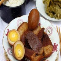 Ngon vô cùng thịt heo kho trứng