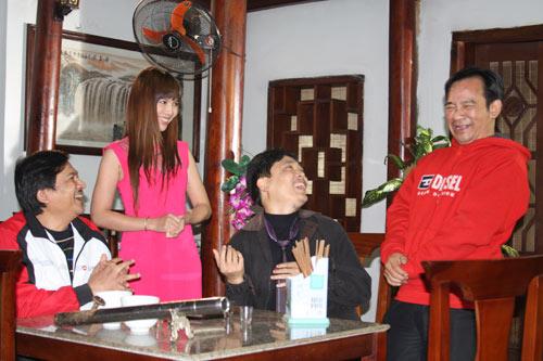 """Quang Tèo lén vợ đi """"tòm tem"""" - 1"""