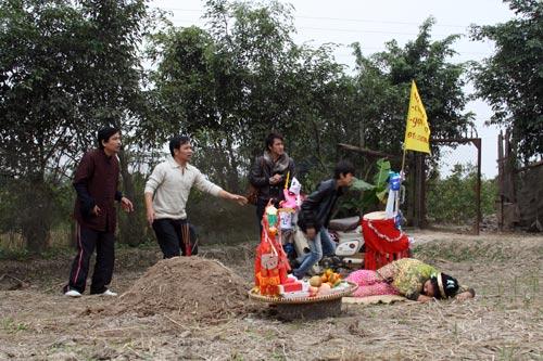 """Quang Tèo lén vợ đi """"tòm tem"""" - 12"""