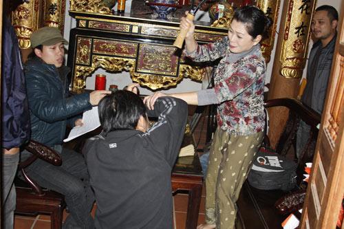 """Quang Tèo lén vợ đi """"tòm tem"""" - 2"""
