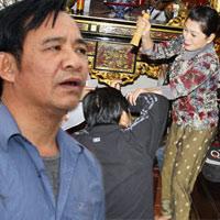"""Quang Tèo lén vợ đi """"tòm tem"""""""