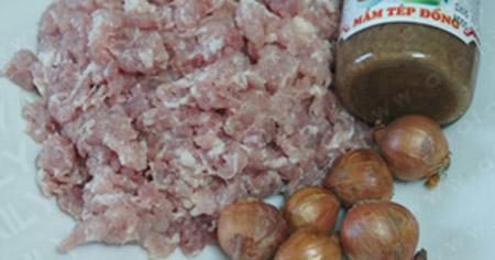 Mắm tép chưng thịt: No cơm vẫn thèm - 1
