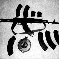 Băng cướp tàn bạo chuyên dùng súng AK