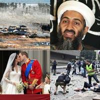 Những sự kiện quốc tế nổi bật năm 2011