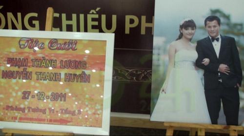 Bầu Kiên mừng đám cưới Thành Lương - 1