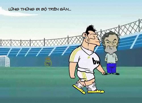 Siêu phẩm video 33: Ronaldo dở chứng - 1