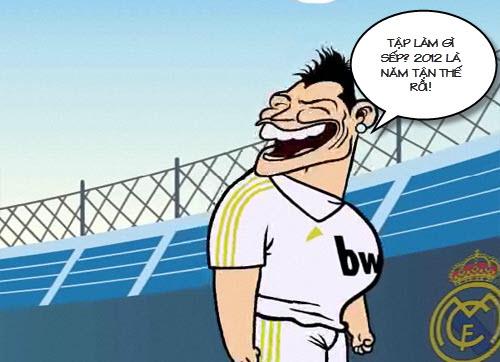 Siêu phẩm video 33: Ronaldo dở chứng - 3