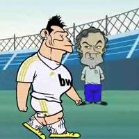 Siêu phẩm video 33: Ronaldo dở chứng