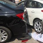 Gây tai nạn khi lái thử xe tại Vietnam Motor Show