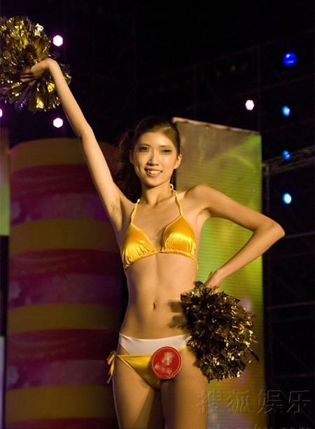 Thí sinh hoa hậu Trung Quốc lại vô duyên - 4