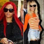 """Làm đẹp - Rihanna chơi nổi với tóc """"cầu vồng"""""""
