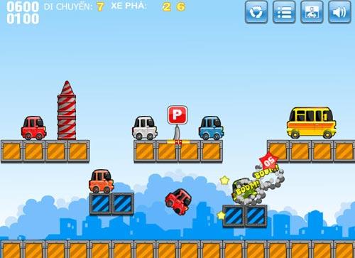 Game hay: Cuộc chiến đỗ xe - 4