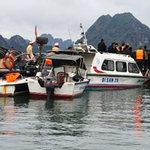 Tin tức trong ngày - Lật xuồng trên vịnh Hạ Long, 5 người chết
