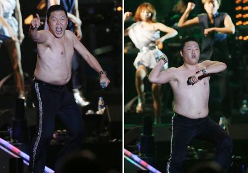 Clip màn cởi áo của cha đẻ Gangnam Style - 7
