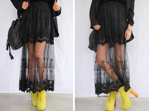 Cập nhật 5 mẫu váy ren mốt nhất thu - 10