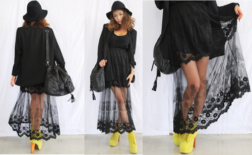 Cập nhật 5 mẫu váy ren mốt nhất thu - 11