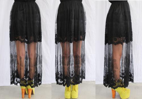 Cập nhật 5 mẫu váy ren mốt nhất thu - 13