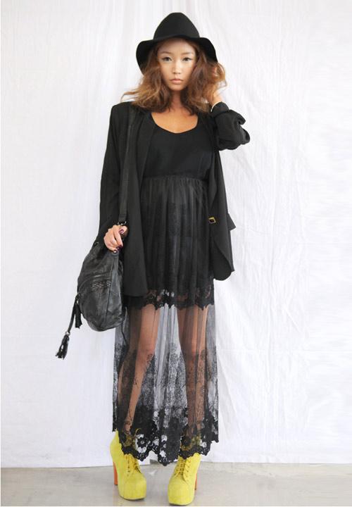 Cập nhật 5 mẫu váy ren mốt nhất thu - 12