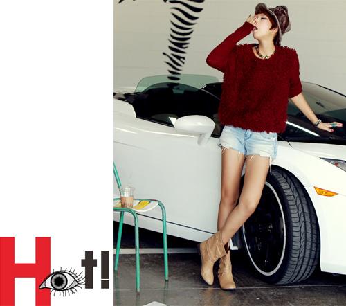 Thu sang, khoe đôi chân sexy như gái Hàn - 3