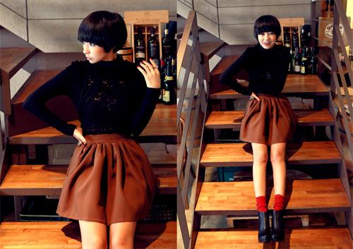 Thu sang, khoe đôi chân sexy như gái Hàn - 9