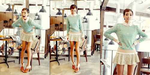 Thu sang, khoe đôi chân sexy như gái Hàn - 11