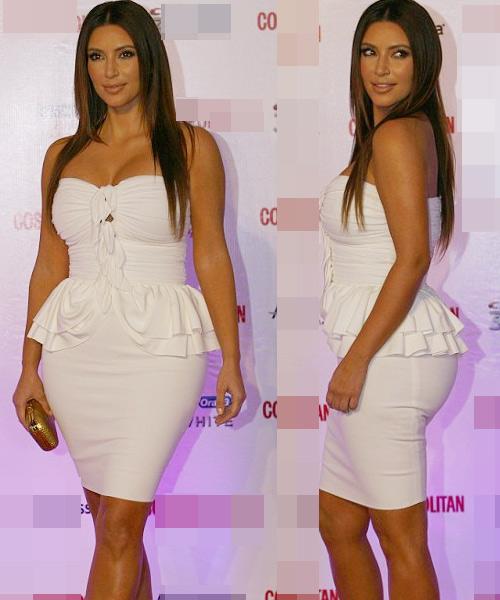 Kim Kardashian phớt lờ áo chíp xuống phố - 6