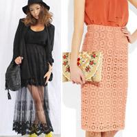 Cập nhật 5 mẫu váy ren mốt nhất thu