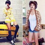 Thời trang - Thu sang, khoe đôi chân sexy như gái Hàn