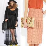 Thời trang - Cập nhật 5 mẫu váy ren mốt nhất thu
