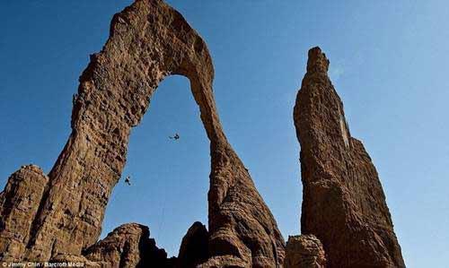 'Khu vườn bí mật' giữa lòng sa mạc Sahara - 1