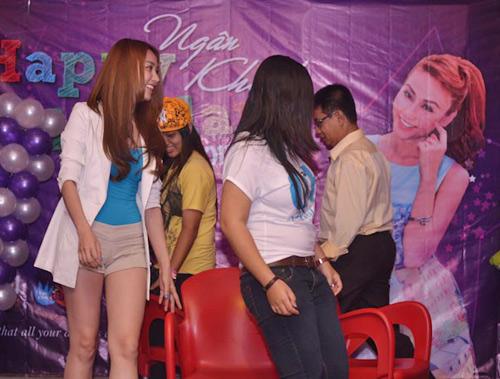 Ngân Khánh cười thả ga với Gangnam Style - 9