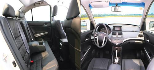 So sánh Toyota Camry 2.5Q với Honda Accord 2.4 - 9