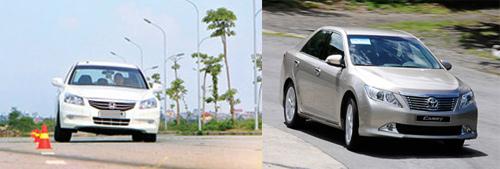 So sánh Toyota Camry 2.5Q với Honda Accord 2.4 - 11