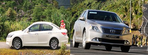 So sánh Toyota Camry 2.5Q với Honda Accord 2.4 - 12