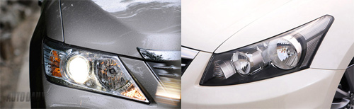 So sánh Toyota Camry 2.5Q với Honda Accord 2.4 - 4