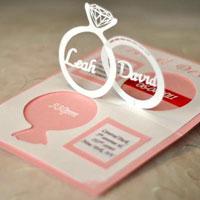 Thiệp cưới 3D quyến rũ giới trẻ