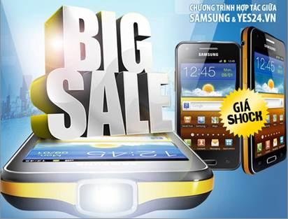 Điện thoại Samsung siêu khuyến mãi tại yes24 - 1