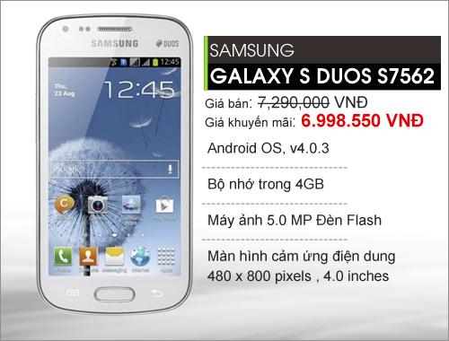 Điện thoại Samsung siêu khuyến mãi tại yes24 - 3