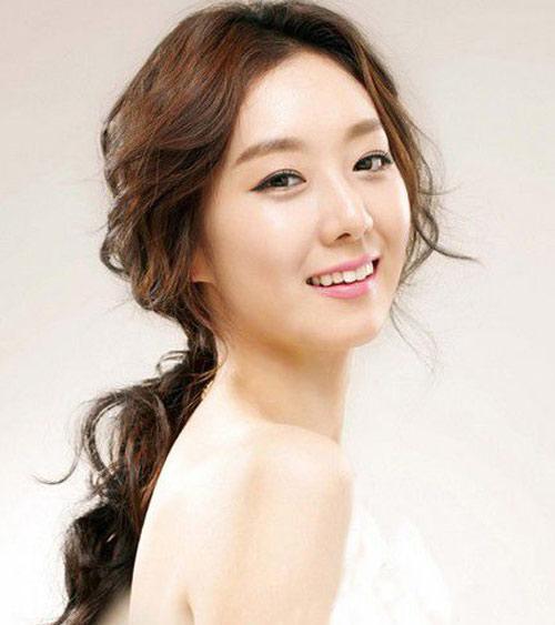 11 kiểu tóc cô dâu đẹp nhất của Hàn Quốc - 11