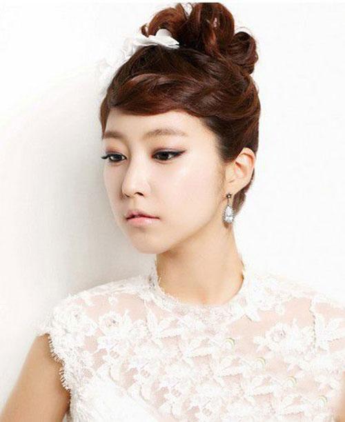 11 kiểu tóc cô dâu đẹp nhất của Hàn Quốc - 2