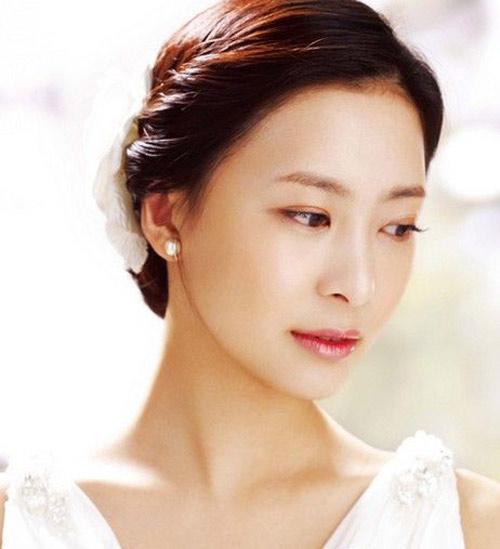 11 kiểu tóc cô dâu đẹp nhất của Hàn Quốc - 5