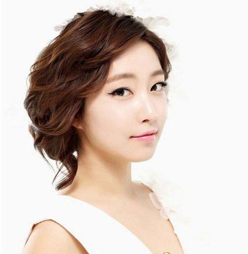 11 kiểu tóc cô dâu đẹp nhất của Hàn Quốc - 7