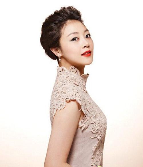 11 kiểu tóc cô dâu đẹp nhất của Hàn Quốc - 8