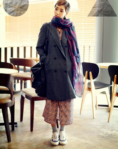 Làm nên cá tính với áo khoác oversize - 10