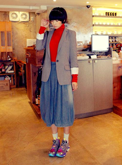 Làm nên cá tính với áo khoác oversize - 5