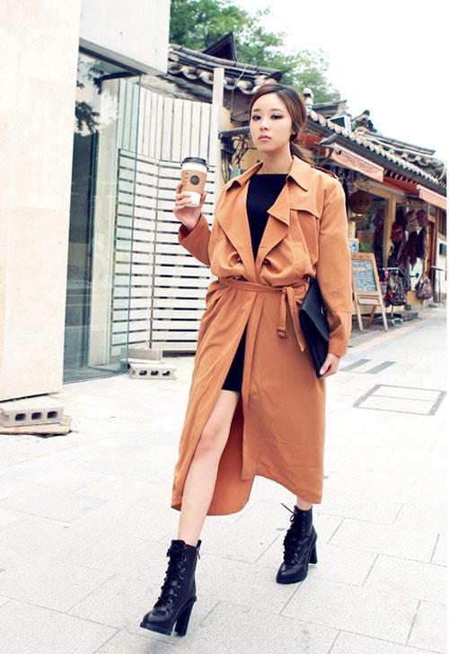 Làm nên cá tính với áo khoác oversize - 7