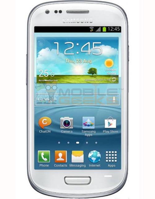 Galaxy S III Mini lộ ảnh, thông số kỹ thuật - 1